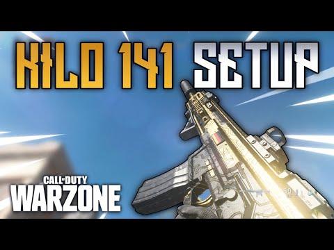 Warzone: KILO 141 SETUP | Bestes Klassen Setup für die Kilo 141 AR | COD: Modern Warfare Warzone