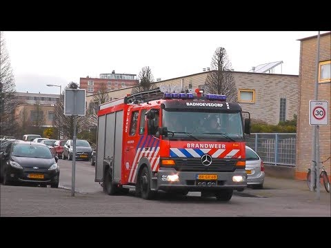 6X Hulpdiensten met Spoed naar Woningbrand Maaseikstraat, Amsterdam Nieuw-Sloten