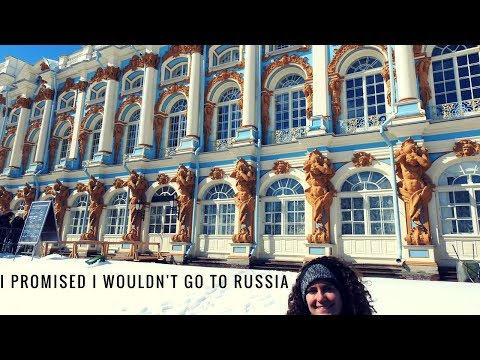 TRAVEL VLOG: St.  Petersburg, Russia