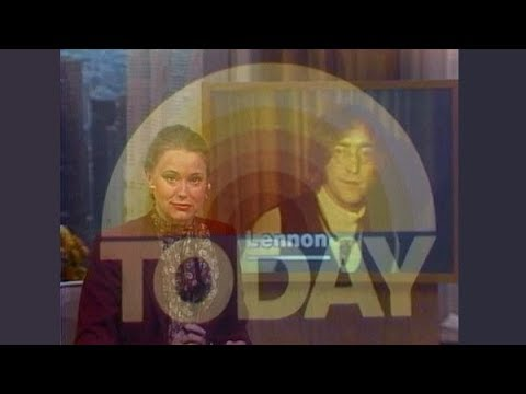 """NBC Network - The Today Show - """"Lennon Murdered"""" (Complete Network Broadcast, 12/9/1980) 📺"""
