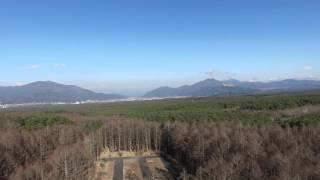 富士山麓 空撮