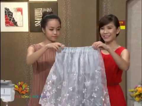 Làm mới chân váy với ren - Vui Sống Mỗi Ngày [VTV3 - 28.05.2013]