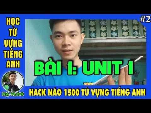 sách hack não 1500 từ vựng tiếng anh tiki - Sách hack não 1500 từ vựng tiếng anh, học từ vựng phần2 Trần Văn Hạ TV