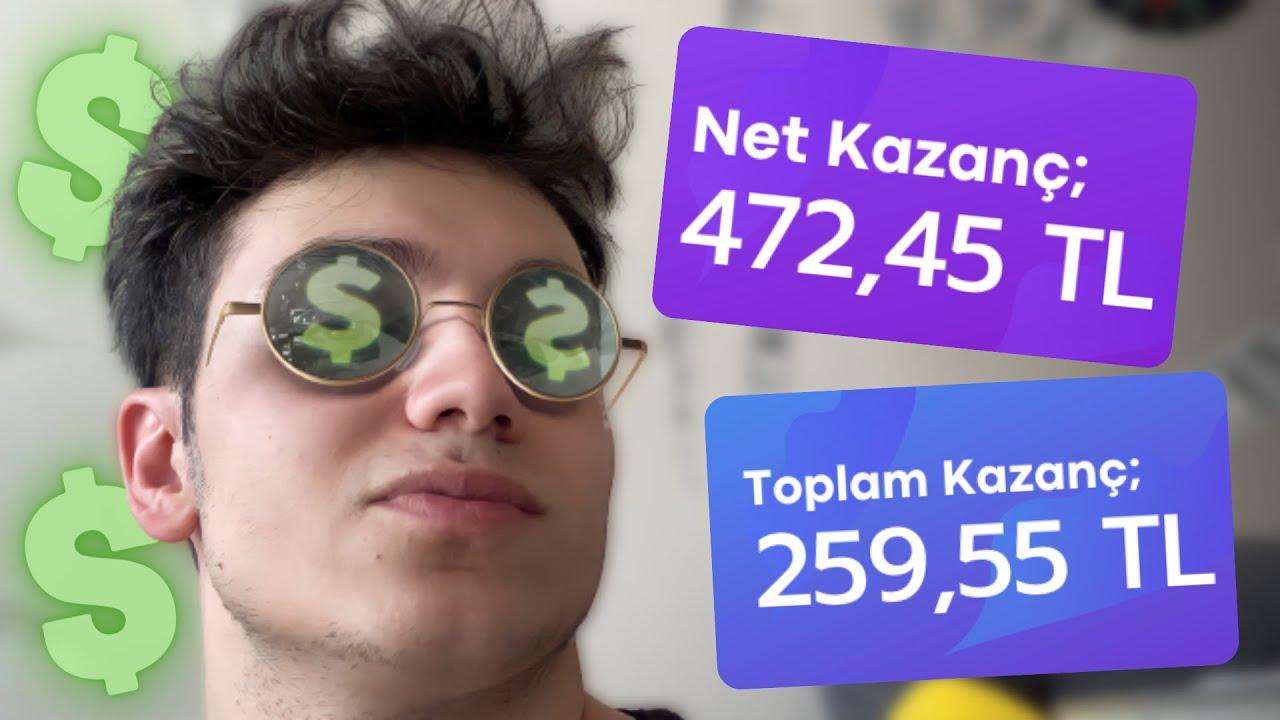 SADECE AÇIK TUTARAK HER DAKİKA PARA KAZAN 🤑 (810 TL ÖDEME KANITLI) - İnternetten Para Kazanma 2021