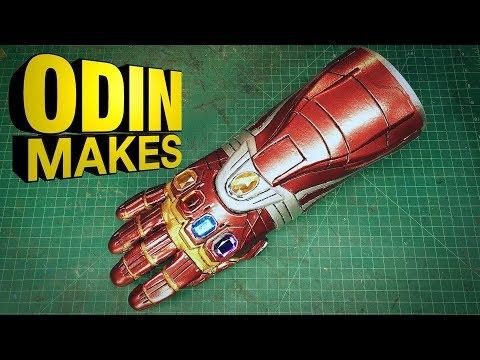 Odin Makes: Iron Man's Nano Gauntlet from Avengers: Endgame