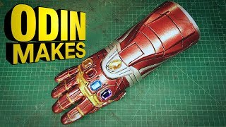 Odin Makes: Iron Man's Nano Gauntlet from Avengers: Endgame
