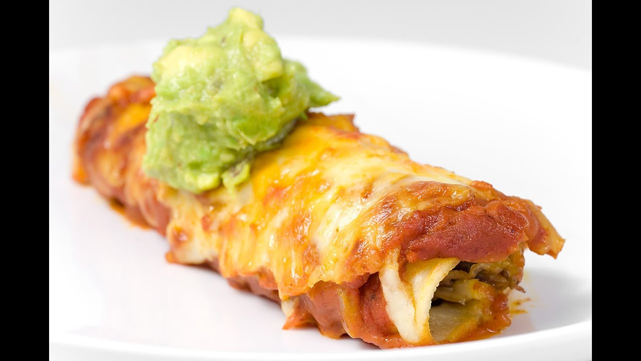 RICETTA: Ricetta messicana Las Enchiladas - YouTube