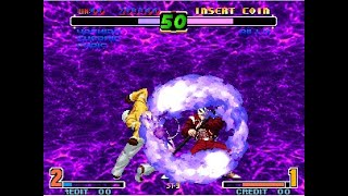 (TAS) The King Of Fighters 10TH Anniversary - Orochi Team Arcade