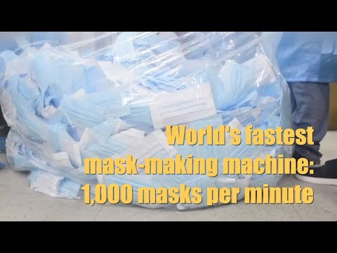 Positive Vibes | 1,000 Masks Per Minute: World's Fastest Mask-making Machine Now In Operation
