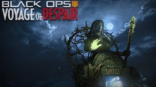 ON THE FINAL STEP   Voyage Of Despair Main Easter Egg Hunt And Boss Fight Hunt   Black Ops 4 Zombies
