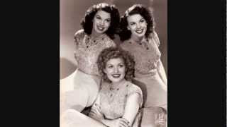 The Dinning Sisters - Love On A Greyhound Bus (1945).
