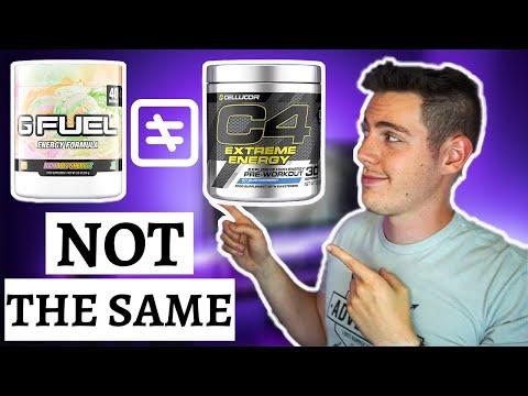 GFuel vs Pre-Workout Supplements