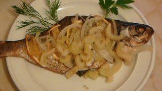 Запеченная рыба в духовке рецепт