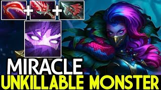 Miracle- [Templar Assassin] UNKILLABLE Monster 100% Physical Build 7.21 Dota 2