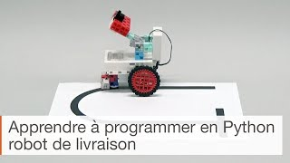 Apprendre à programmer en Python - robot de livraison