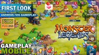 Monster Legends GAMEPLAY - (Breed & Merge Heroes Battle Arena) screenshot 5