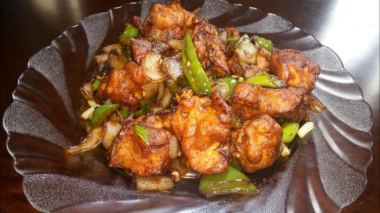 Chilli Chicken Kannada How To Make Chilly Chicken Simple Chilly Chicken Spicy Chilly Chicken Youtube