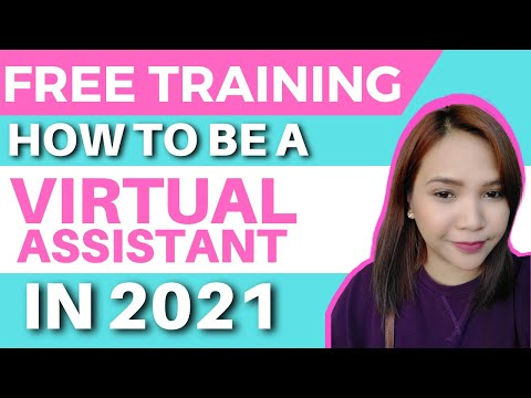 How To Become A Virtual Assistant in 2021   Free Virtual Assistant Training   How to Be A Freelancer