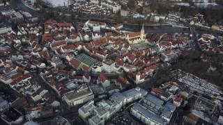 Flug über Kempten (Allgäu) | Stadt von oben
