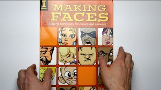 Flip Through - Making Faces: Drawing Expressions for Comics and Cartoons