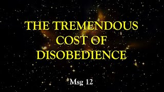 Micah: The Tremendous Cost Of Disobedience