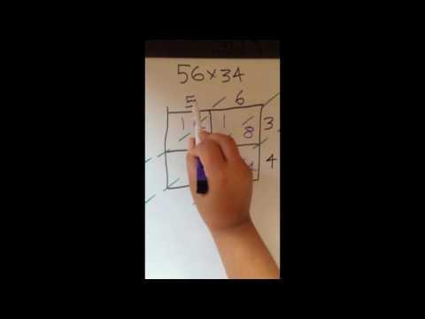 Tutor Help  Lattice Multiplication