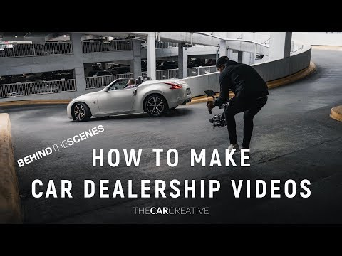 Creating Content For Car Dealerships! Behind The Scenes