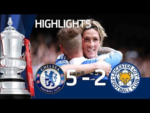Chelsea 5-2 Leicester - Official goals and highlights | FA Cup Sixth Round 18/03/12