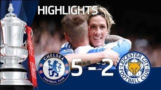 Download Video Chelsea 5-2 Leicester - Official goals and highlights | FA Cup Sixth Round 18/03/12 MP3 3GP MP4