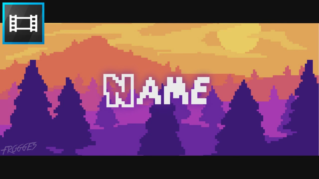 FREE 8-BiT 2D Intro Template # 208 ¦ Sony Vegas Template - YouTube