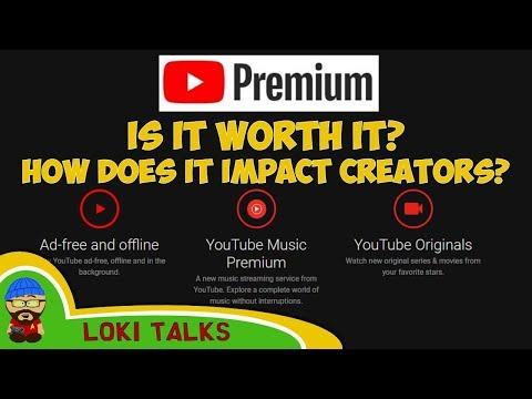 Youtube Premium + Music. Is it Worth it? How does it impact creators? Mp3