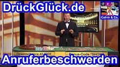 DrückGlück.de · Anruferbeschwerden (16.02.2016) · Call-In & Co.