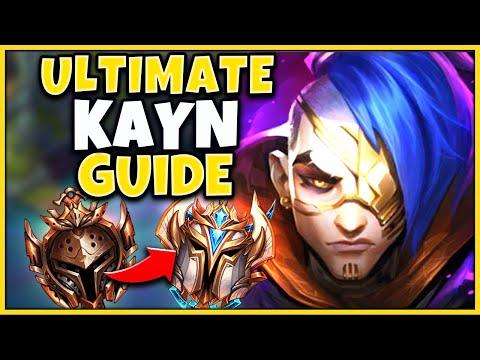 *RANK 1 KAYN* THE ULTIMATE SEASON 10 KAYN GUIDE (RUNES, ITEMS, PATHING) - League of Legends