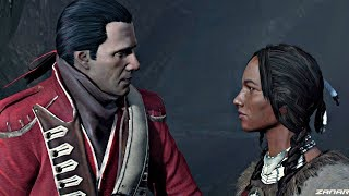 Assassin's Creed 3 Remaster - Ziio & Haytham Kenway Love Story (PS4 Pro) Mother & Father of Connor