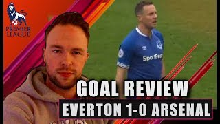 Everton DESTROY weak Arsenal! Everton 1-0 Arsenal Goal Review