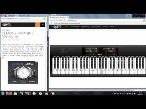 Demons Imagine Dragons Roblox Piano Roblox How To Get Virtual Piano Megalovania Home Interior Design Ideas Dontweight Us