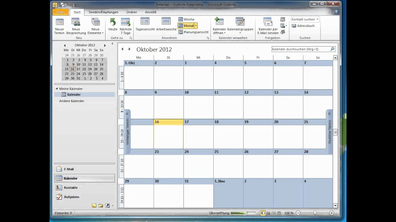 Outlook Kalender In Google Abonnieren