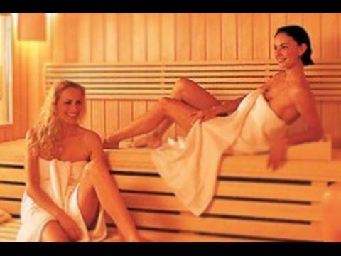 В сауне Голые девушки, жены и любовницы в сауне, порно в