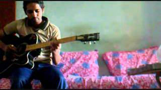 Mayank & Nupur Theme Guitar Cover By Anshul.wmv