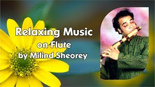 Relaxing Music on Flute | Flute Music | Soothing Spa Music | Positive Quotes