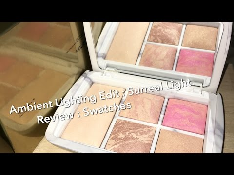 Hourglass Ambient Lighting Edit Palette : Surreal Light : Holiday 2016 : Review & Swatches