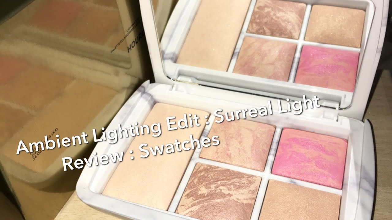 Hourglass Ambient Lighting Edit Palette : Surreal Light : Holiday 2016 :  Review U0026 Swatches   YouTube