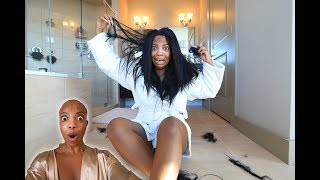 OMG MY HAIR!!! (Prank On My Fiancé)