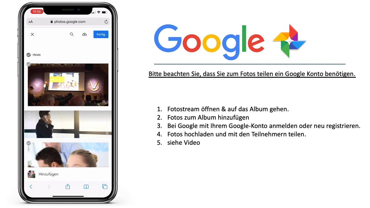 Fotos Teilen Google