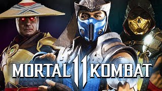 Mortal Kombat 11 - Every Trailer Ever Kompilation