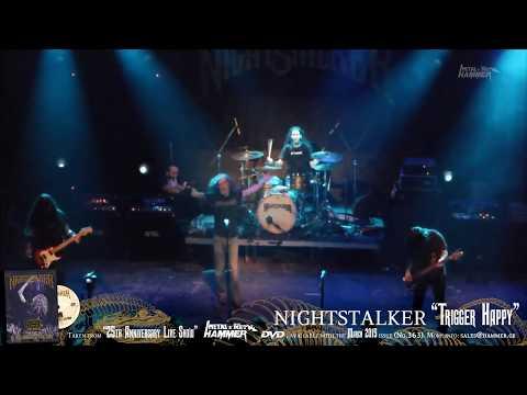 """NIGHTSTALKER """"Trigger Happy"""" METAL HAMMER DVD March issue (No.363)"""
