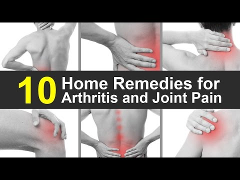 Home Remedies for Arthritis & Joint Pain