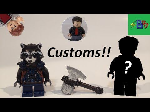 Custom Minifigures by Decent Customs and Games Review!