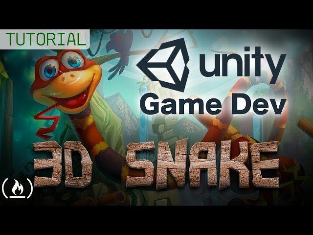 Unity Game Dev Full Tutorial - 3D Snake Game