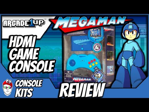 Arcade1Up HDMI Game Console - MegaMan Collection! Is it worth $40? from Console Kits